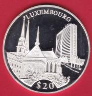 Libéria - 20 $ Argent - Luxembourg 2000 - FDC - Liberia