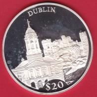 Libéria - 20 $ Argent - Dublin 2000 - FDC - Liberia