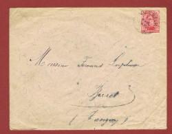 Cachet Vielsalm 10 Avril (MOIS EN TOUTES LETTRES) Vers Tavigny  Fortune ??? - Postmark Collection