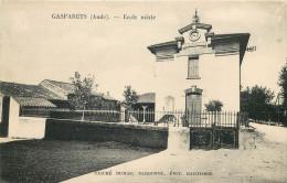 11 - AUDE - Gasparets - Ecole Mixte - Autres Communes