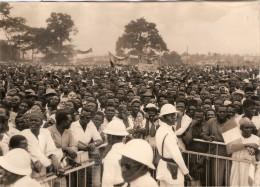 Photo De Presse Photographie Côte D´Ivoire Stade Abidjan Discours De De Gaulle  26 8 1958 - Lieux