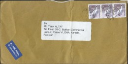 Hong Kong Airmail 2006 $1.90, Black-faced Spoonbil Birds Postal History Cover Sent To Pakistan. - 1997-... Région Administrative Chinoise