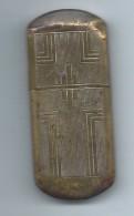 """Briquet De Poche """" Tempête""""/Laiton /Ancien/Vers 1910-1930               OBJ130 - Briquets"""