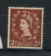 2d Wilding LEFT BAND ONLY - See Scan - 1952-.... (Elizabeth II)