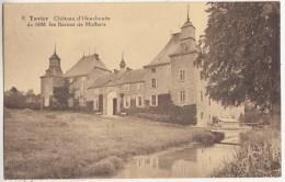 Tavier - Château D´ Houchenée De MM. Les Barons De Moffarts - Edit. Culvers-Lemye, Stockay N° 8 - Châteaux