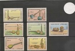 AFRIQUE DU SUD Année 1988 Instruments De Musique N° Y/T : 1388/94** - Musique