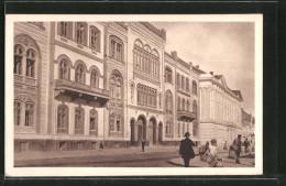 CPA Beograd, Akademie, Rückseite: Porträts Von Graf Draskovic Et Milan Mitrovsky - Serbie