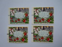 Aland Frama 2004 Timbres ATM Vending Machine Groseilles Lingonberrie 4 Valeurs MNH ** - Aland