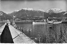 BATEAU DE PROMENADE ( TOURISTIQUE ) SEVRIER Lac D'Annecy  - CPSM PF 1952 (Sightseeing Boat Ausflugsboot Rondvaartboot ) - Otros