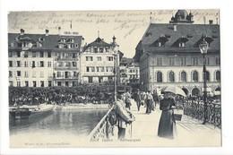 14712 - Luzern Rathausquai Hotel Du Corbeau Gasthaus Raben - LU Lucerne
