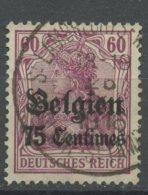 Belgium 1914 75c German Occupation  Issue #N6 - WW I