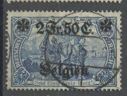 Belgium 1914 2.50 Fr German Occupation  Issue #N9 - WW I