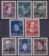 DINASTIA DE AVIS  - AFINSA Nº 705/712 - ***MNH - 1910-... Republic