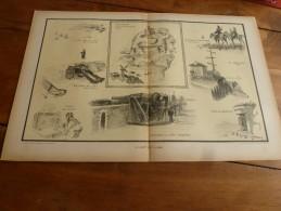 La Guerre Navale à Travers Le Temps , Gravure D'Albert Sébille  LE GUET DE LA MER (dimension Du Document = 50cm X 33cm - Documents