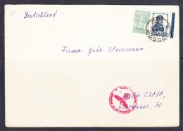 EXTRA11-27 OPEN LETTER SEND FROM MOSCOW TO BERLIN. 13.06.1940. GERMAN CENZURA MARK.