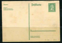 Germany 1926 Postal Stationary Card Unused  5  Pf - Germany