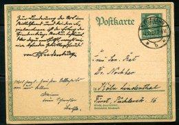 Germany 1927 Postal Stationary Card  8 Pf - Germany