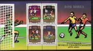 Korea,North Football-World Championship 1978-1982 1980,block,MNH - Corea Del Norte