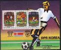Korea,North Football-World Championship 1978-1982 1980,block,MNH - Korea, North