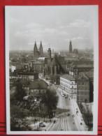 Wroclaw / Breslau - Dominikaner Platz / Strassenbahn - Polen