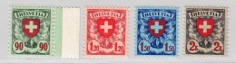 Schweiz #163-166 ** Wappenmuster - Neufs