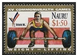 Nauro: Sollevamento Pesi, Haltérophilie, Weightlifting - Pesistica