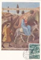 VATICAN @ Carte Maximum De 1960 @ Cita Del Vaticano - Année Mondiale Des Réfugiés - Ane - Maximum Cards