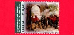 Nuovo - MNH - ITALIA - 2011 - Fatti D´arme - Da BF - Spedizione Dei Mille, Battaglia Del Volturno, 1860 - 60 - 6. 1946-.. República