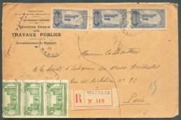 Lettre Recommandée De MAZAGAN 1924 Vers Paris - 11133 - Covers & Documents