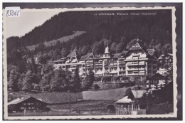 WENGEN - PALACE HOTEL - TB - BE Berne