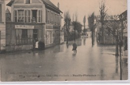 NEUILLY PLAISANCE Inondations 27 Et 28 Janvier 1910 Rue Faidherbe - Neuilly Plaisance