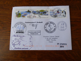 Courrier  Iles Eparses  Europa     Bateau Marion Dufresne - Covers & Documents