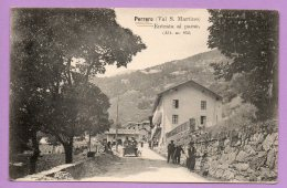 Perrero (Val S. Martino) Entrata Al Paese. - Italie