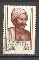 India, 1986, Veer Surendra Sai, Freedom Fighter,  1 V,  FINE USED - Inde