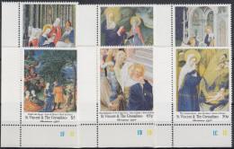 St.Vicens & The Grenadines Nº 2369/74 Navidad Nuevo - Christmas