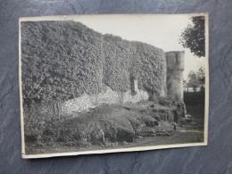 BRETAGNE Remparts Vers 1920, à Situer (Ile-et-Vilaine Vers Paimpont ?) ; Ref 749 PH 16 - Photographs