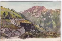 Suisse - Rochers De Naye (2045 M) - Chemin De Fer Glion - Naye - Suisse