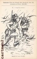 CARTES DE L´ECHO DES GOURBIS 131e REGIMENT TERRITORIAL POILUS DANS LA BOUE DESSINEE AU FRONT ILLUSTRATEUR LOUIS ICART - Humoristiques