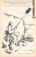 CARTES DE L´ECHO DES GOURBIS 131e REGIMENT TERRITORIAL OBUS BAILLONETTE DESSINEE AU FRONT ILLUSTRATEUR LOUIS ICART - Humoristiques