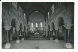 Carte  Photo  De Sancey Le Long  Intérieur De La Basilique  Sainte Jeanne  Antide  ( Format Et Rigiditée C.P.A ) - Andere Gemeenten
