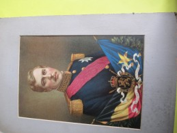 Grands Chromos à Encadrer/Portraits D'Albert 1er Et D'Elisabeth/Souverains Belges /BELGIQUE/ Vers 1900-1910   CHRO41 - Autres