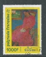 """Polynésie N° 463 O Oeuvre De Paul Gauguin : """"Faaturuma"""",  Oblitération Légère Sinon TB - Polynésie Française"""