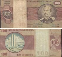 BRASIL - 100 CRUZEIROS  (#694) - Brazil