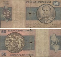 BRASIL - 50 CRUZEIROS  (#587) - Brazil