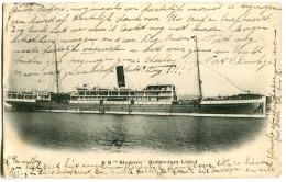 S S SINDORO Rotterdam LLOYD Sent 1906 - Dampfer