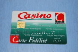Carte De Fidélité Magasins CASINO Ayant Expiré En 2000, EXCELLENT ÉTAT - Geldkarten (Ablauf Min. 10 Jahre)