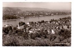 5330 KÖNIGSWINTER, Ortsansicht Mit Rhein Und Blick Auf Godesberg, 1958 - Koenigswinter