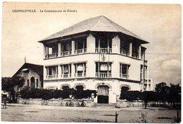 CPA CONGO BELGE ( Afrique ) - LEOPOLDVILLE - Le Commissariat De District - Kinshasa - Léopoldville