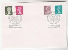 1986 Upminster GB Stamps COVER EVENT  Pmk COOPERS COMPANY & COBORN SCHOOL - 1952-.... (Elizabeth II)
