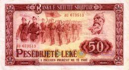 Albanie - Albania 1964 Billet 50 Leke Pick 38 Neuf UNC - Albanië